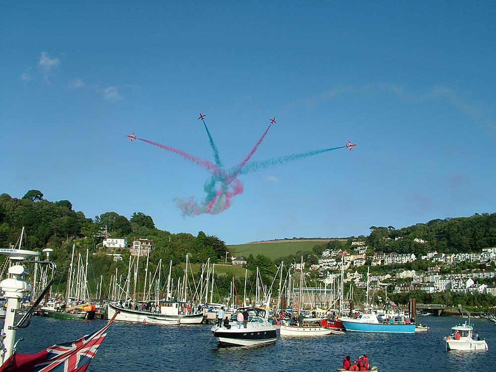 Red Arrows at Dartmouth